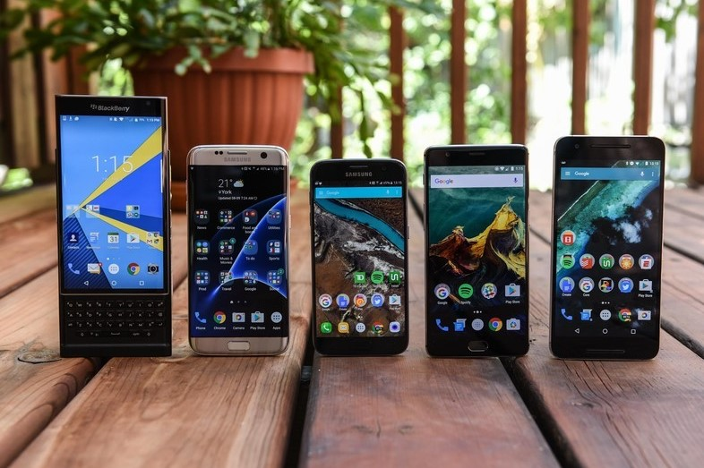 Choosing OS Android or iOS